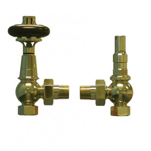 Apollo Valve Set - Luxury Brass TRV Valves