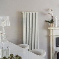 Bisque Tetro Column Radiator