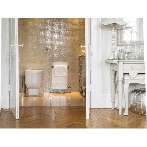 Bisque Blok Cloakroom Radiator