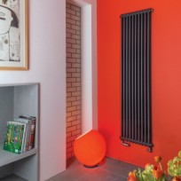Bisque Classic Column Radiator In ANTHRACITE