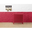 Bisque Classic Column Radiator With Feet
