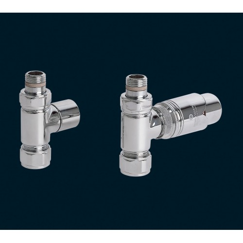 Bisque Valve Set J - STRAIGHT Thermostatic Valves