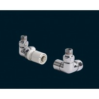 Bisque Valve Set P - DOUBLE ANGLED Thermostatic Valves