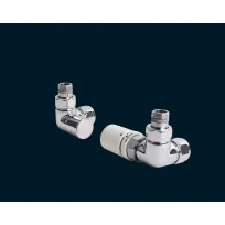 Bisque Valve Set Q - ANGLED Thermostatic Valves