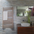 Bisque Deline Towel Radiator