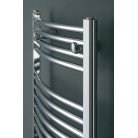 Eucotherm Chromo Curved Chrome Towel Radiator