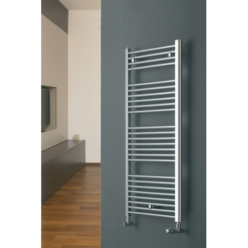 Eucotherm Chromo Straight Chrome Towel Radiator