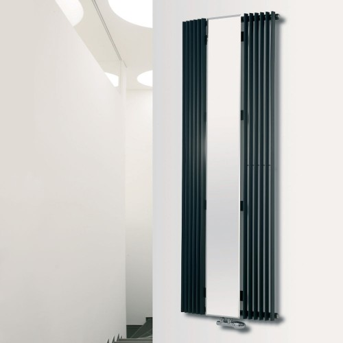 Eucotherm Corus Mirror Curved Vertical Radiator
