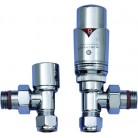 JIS Valve Set - Angled Thermostatic Valves