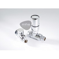 MHS Valve Set - Radius Straight TRV Valves
