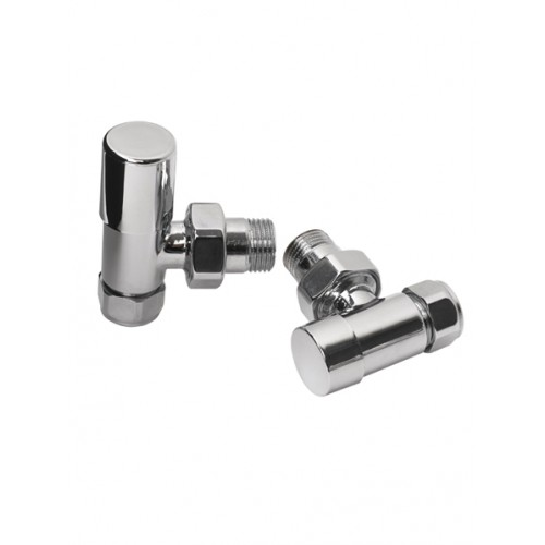 Rads 2 Rails Valves - Studio Angled Manual Valves