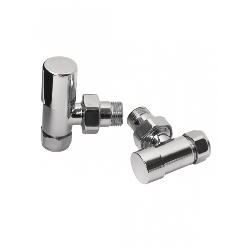 Rads 2 Rails Valves - Studio Straight Manual Valves
