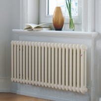 Zehnder Charleston Column Radiator In WHITE