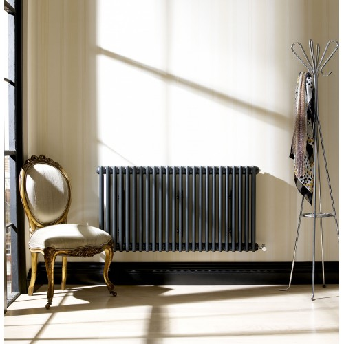 Zehnder Charleston Column Radiator In ANTHRACITE